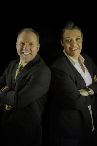Sellstate Alliance Realty Owners, from left, Preston Smith and Carrie Lukins