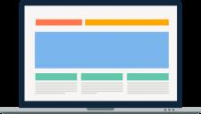 Responsive Website Laptop